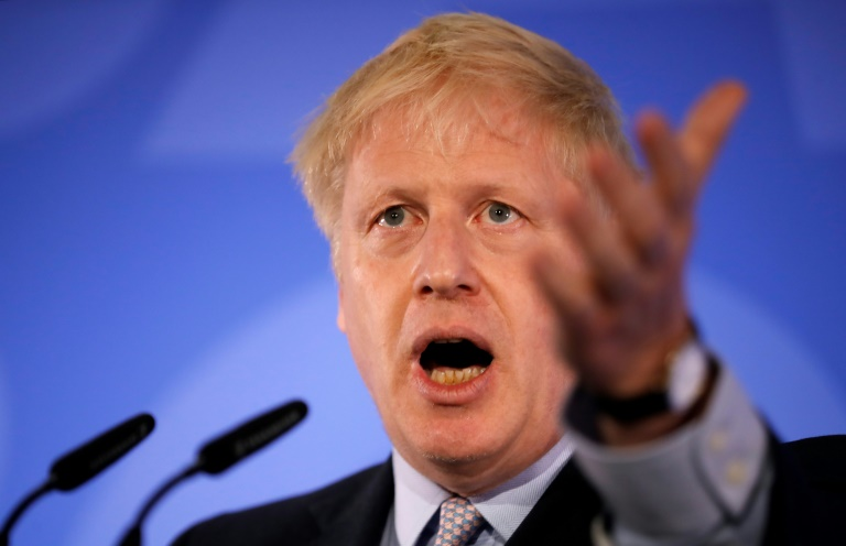 Boris Johnson wins first round of UK leadership vote