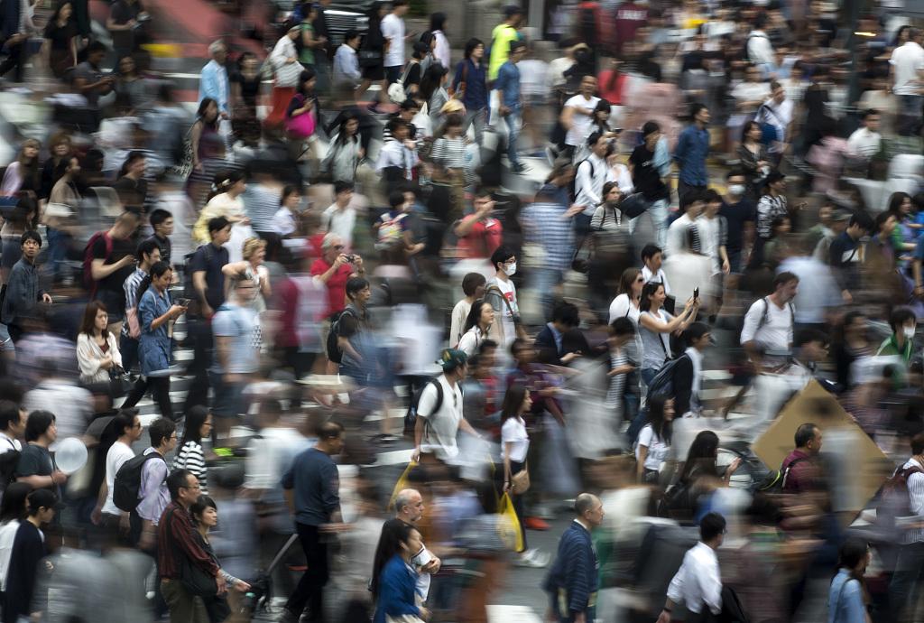 Tokyo's Shibuya Crossing is not so pedestrian