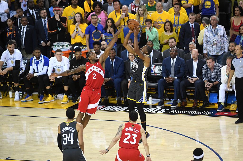 Toronto Raptors beat Golden State to capture NBA title