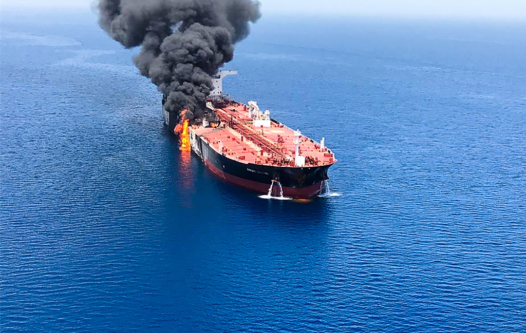 Iran says attacks on 2 oil carriers in Sea of Oman 'suspicious'