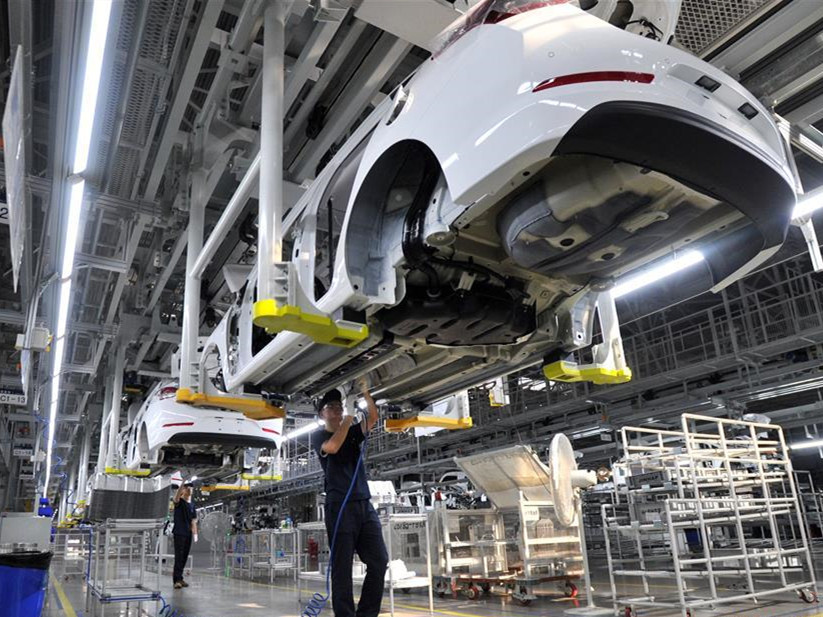 China's industrial output up 5% in May