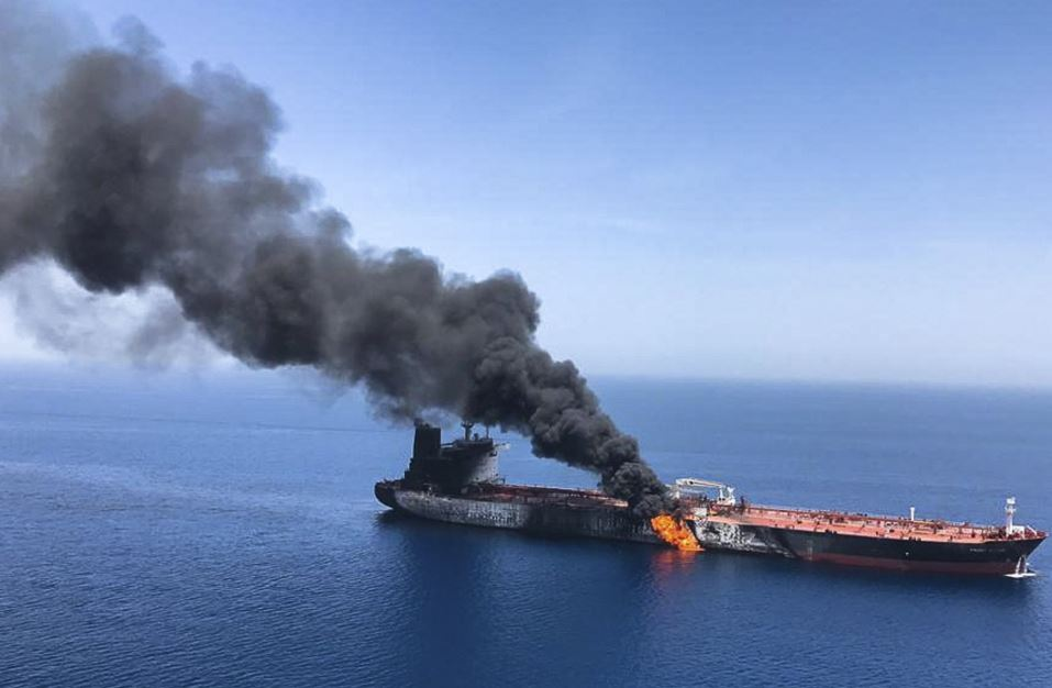 Iran sends experts to examine status of damaged vessel in Sea of Oman