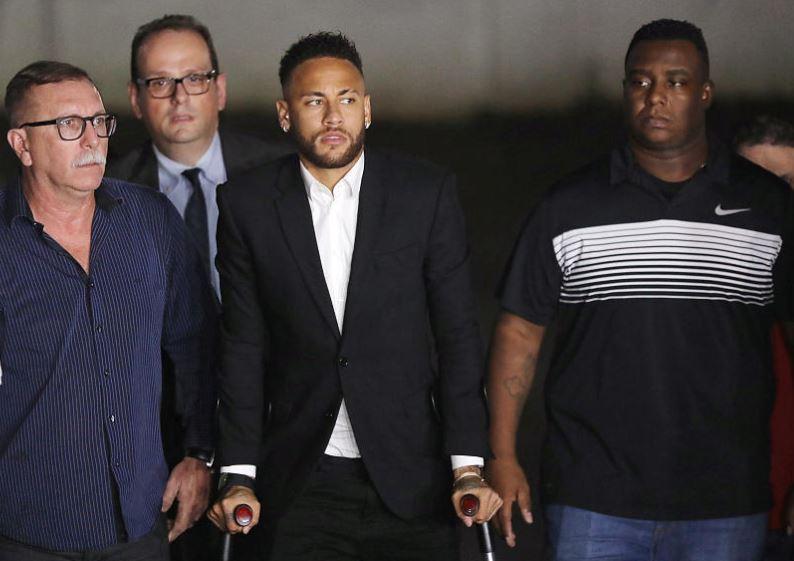 Brazil police question Neymar over alleged rape