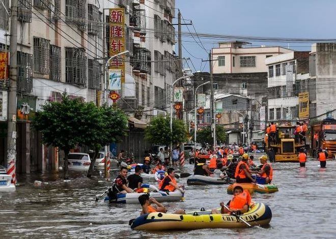 China activates emergency response for floods in Guangdong