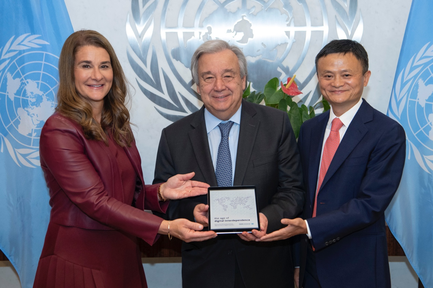UN panel calls for bridging digital divide
