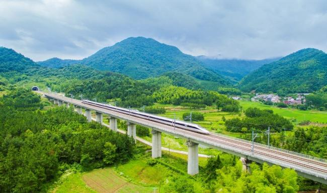 Chinese high-speed railway: over a decade of dazzling development