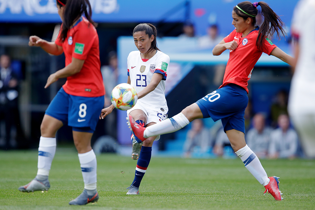 US move into last 16 of FIFA Women's World Cup