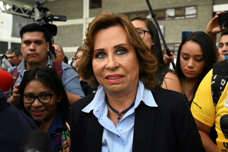 Former first lady Torres takes lead in Guatemala presidential vote