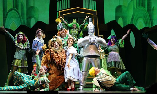 Broadway musical 'The Wizard of Oz' makes debut at Tianqiao Performing Arts Center