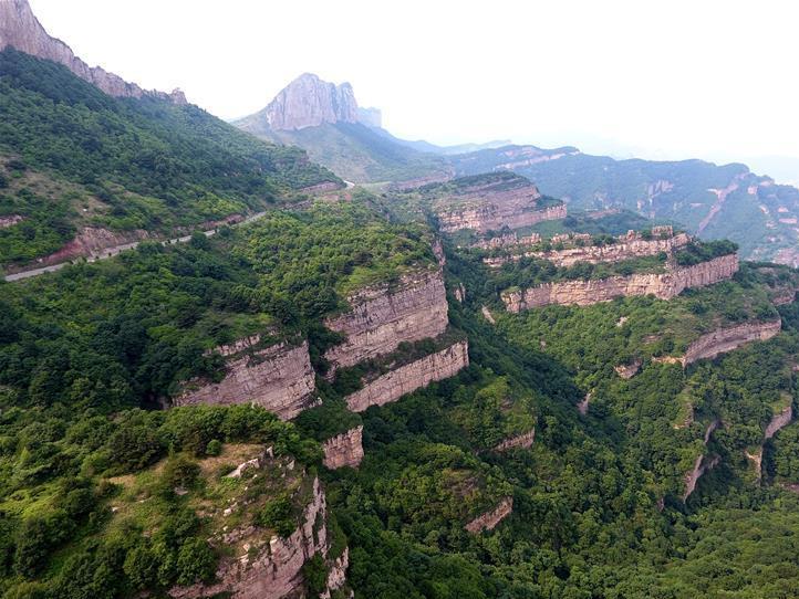 Scenery of Banshan Mountain in N China's Shanxi