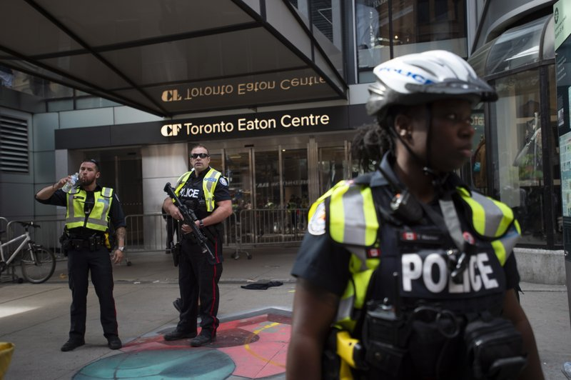 Police seeking fourth person in shooting at Raptors rally in Toronto