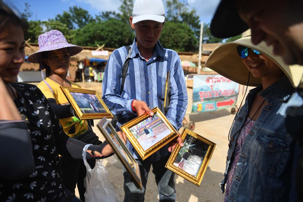 Rescue of Thai cave boys creates a tourist draw