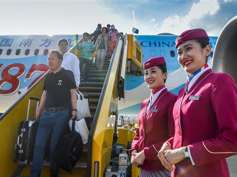 China Southern Airlines opens Guangzhou-Urumqi-Vienna air route