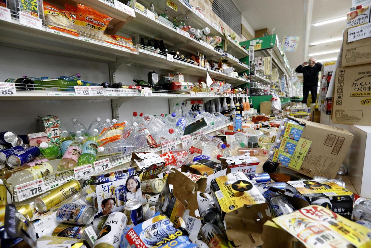 15 injured after quake strikes off NE Japan