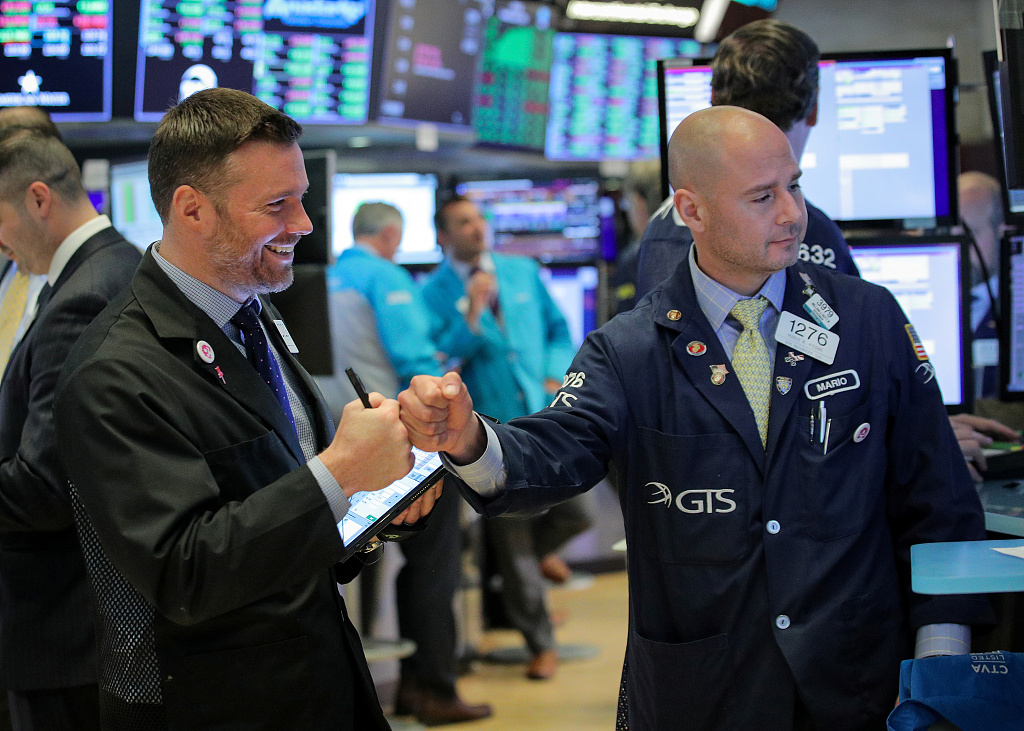 US stocks open higher ahead of Fed's rate decision