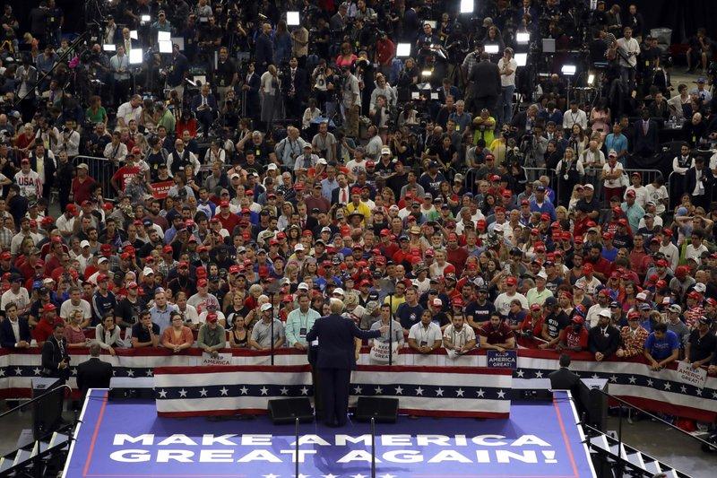 Trump, in 2020 campaign mode, calls Democrats 'radical'