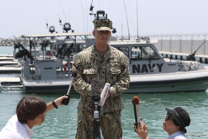 US Navy expert: Tanker attack mine resembles Iranian mines