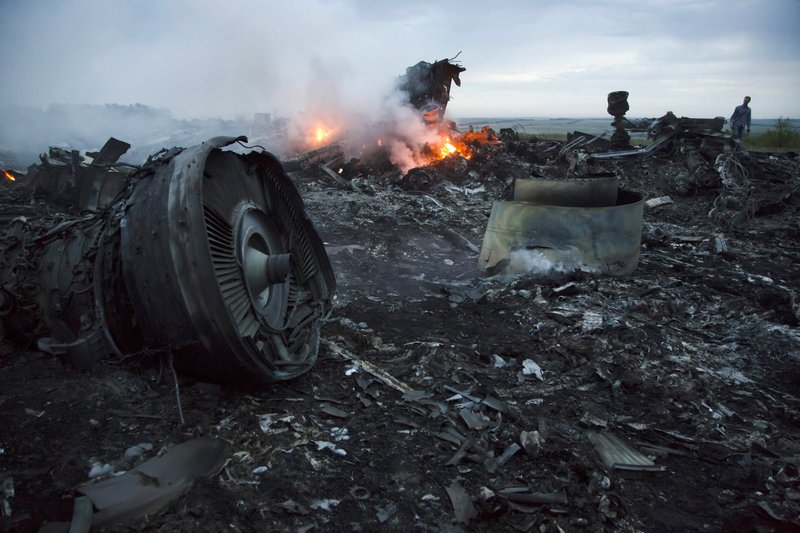 Three Russians, one Ukrainian charged over MH17 crash
