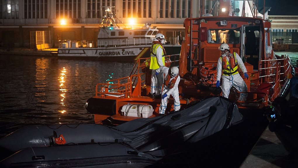 20 people missing from migrant boat rescued off Spanish coast