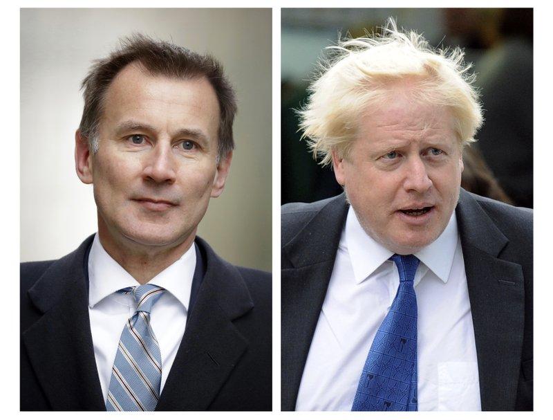 Boris Johnson, Jeremy Hunt in runoff for UK prime minister