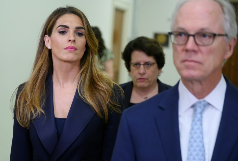 Democrats say little gained as Trump ex-aide Hicks snubs lawmakers