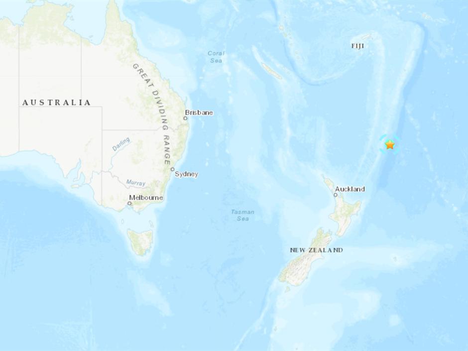 6.2-magnitude quake hits 156km ENE of L'Esperance Rock, New Zealand: USGS