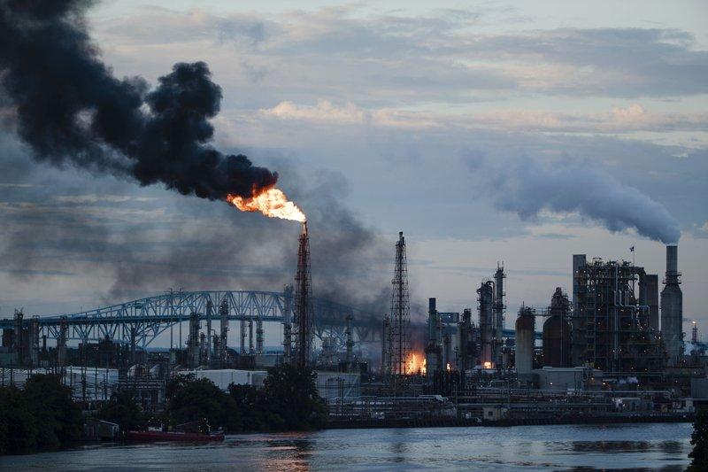 Fire, explosions rock Philadelphia oil refinery