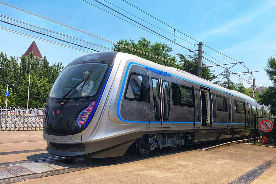 High-tech subway train puts rail industry on fast track to the future