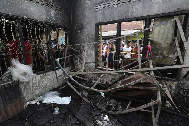 At least 30 killed in Indonesia matchstick warehouse fire