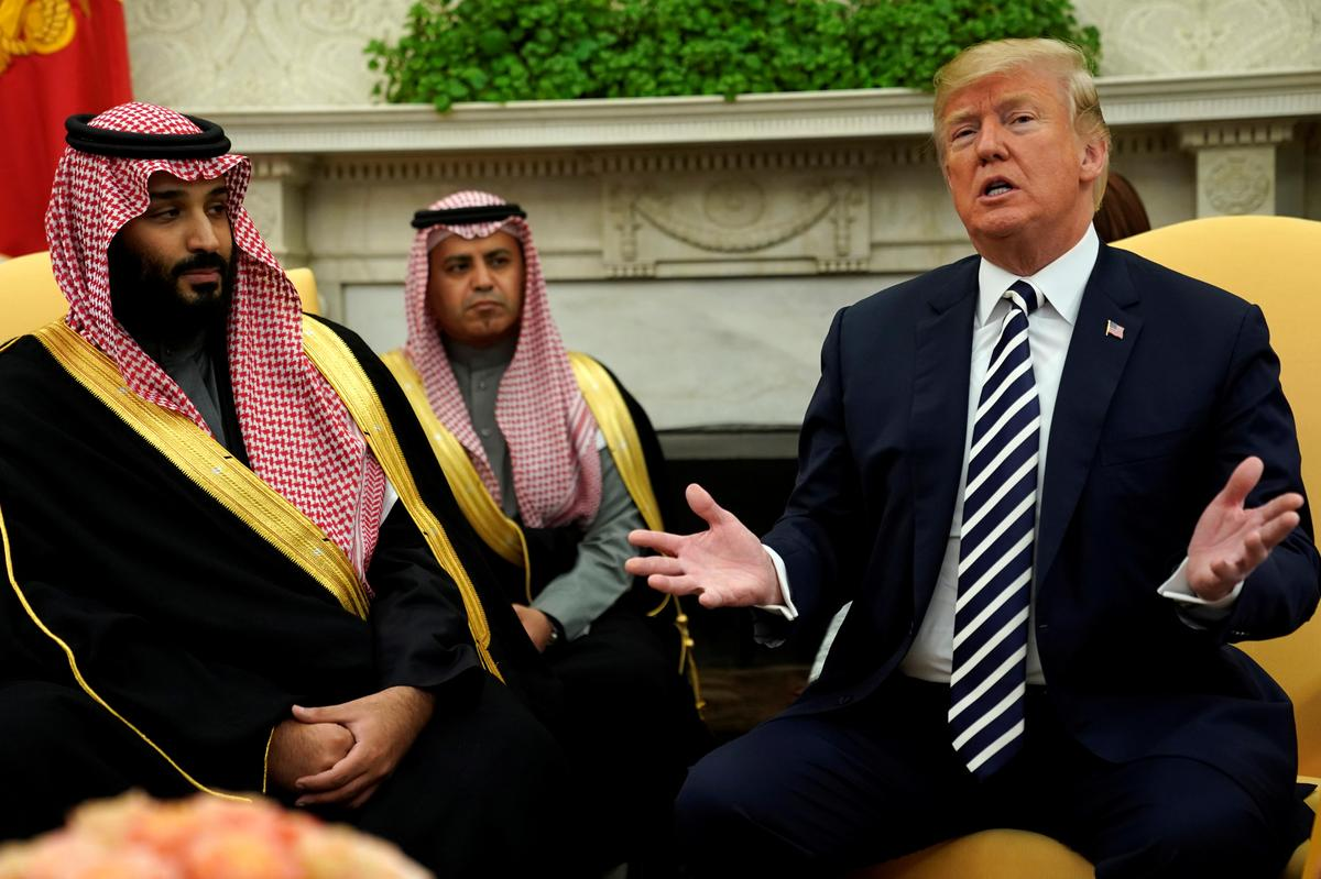 Saudi crown prince discusses regional development with US president