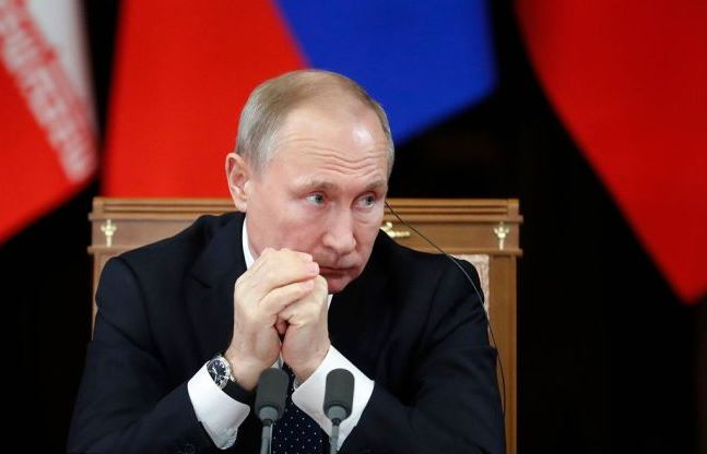 Putin bans Russian passenger flights to Georgia amid tensions