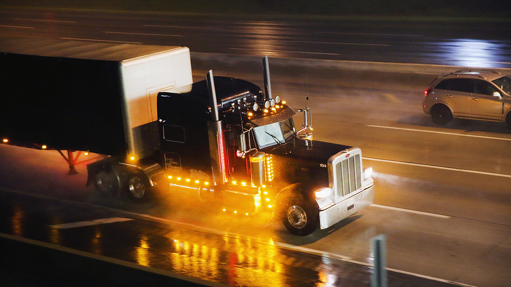 What does the collapse in North American heavy truck orders mean?