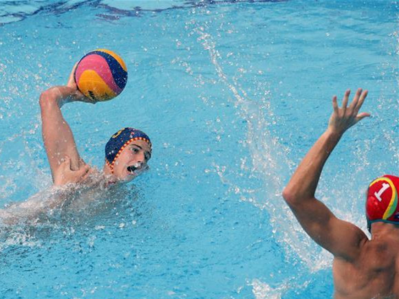 Spain vies with Australia in FINA water polo World League for bronze medal