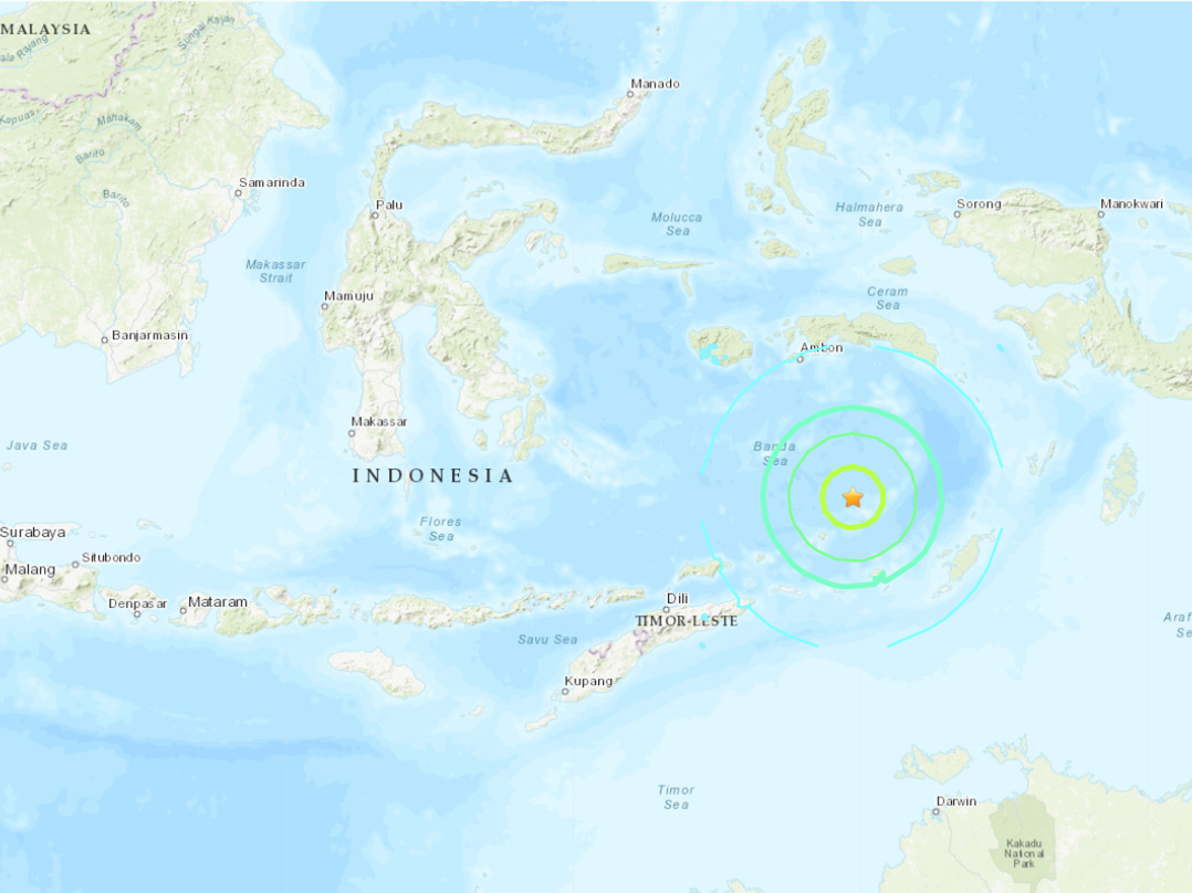 Powerful quakes hit off E. Indonesia, no damage or casualty report so far