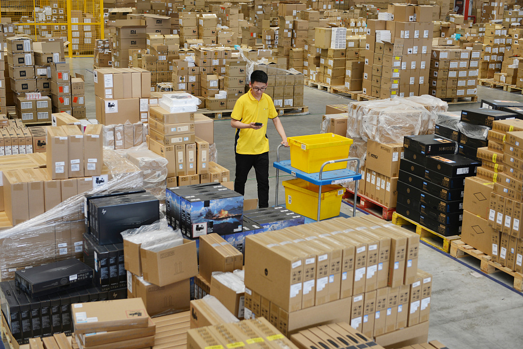 China's online retail sales hit 3.86t yuan in Jan-May: report