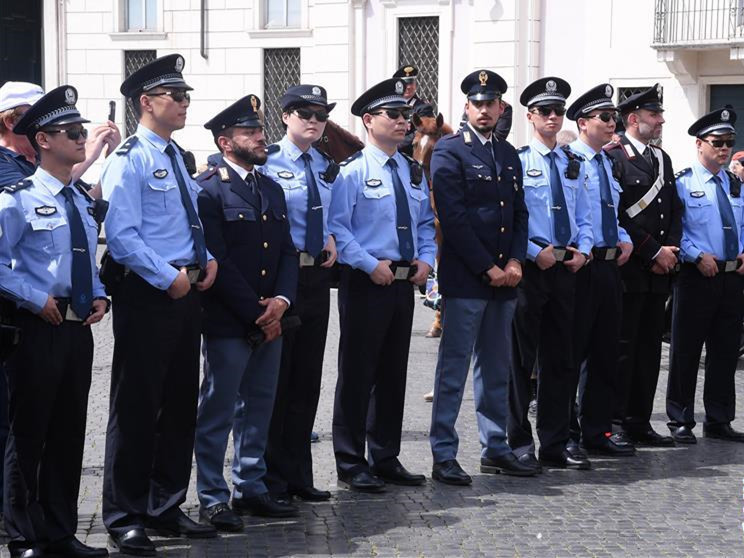 Italian police begin 3rd joint patrol in China
