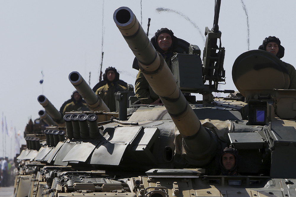 Russia starts snap check of Central Military District troops