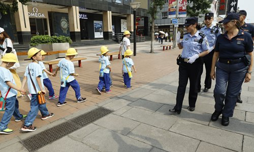 Third China-Italy police patrol begins in Chinese cities to better serve tourists