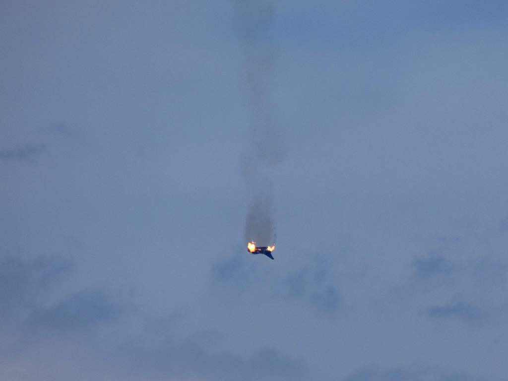 2 German fighter jets collide in mid-air, 1 pilot killed