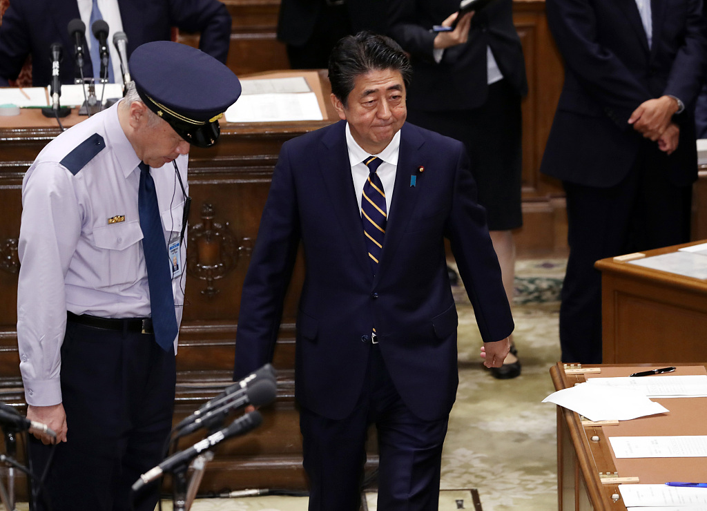 No-confidence motion against Japanese PM Abe's Cabinet voted down