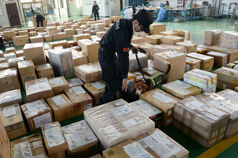 Chinese customs seize 37.5 tons of drugs in 2018
