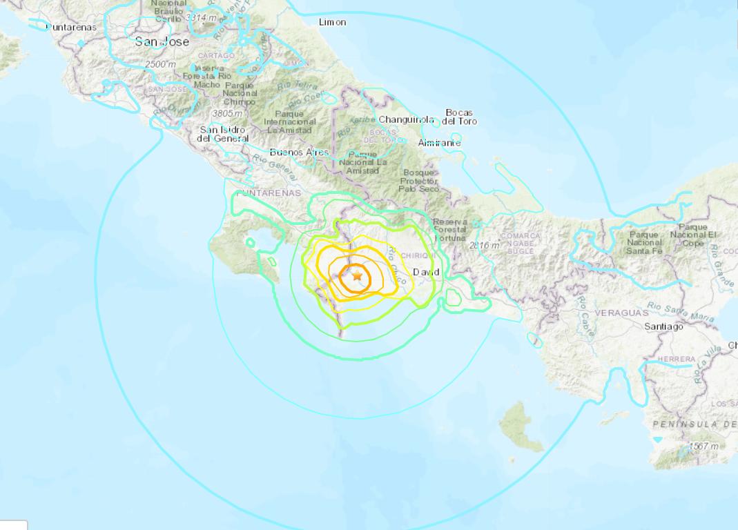 Magnitude 6.3 quake hits western Panama -- USGS