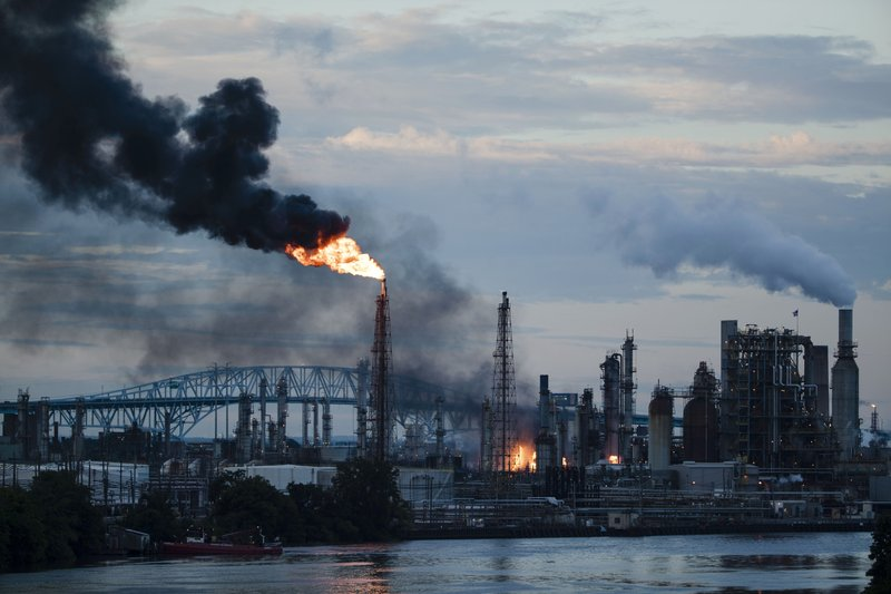 Largest oil refinery on US East Coast will close after fire