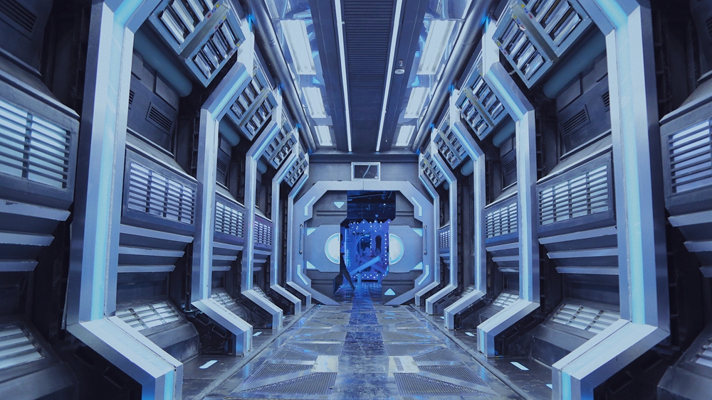 Welcome to the future at Galaxy Community Immersive Exhibition