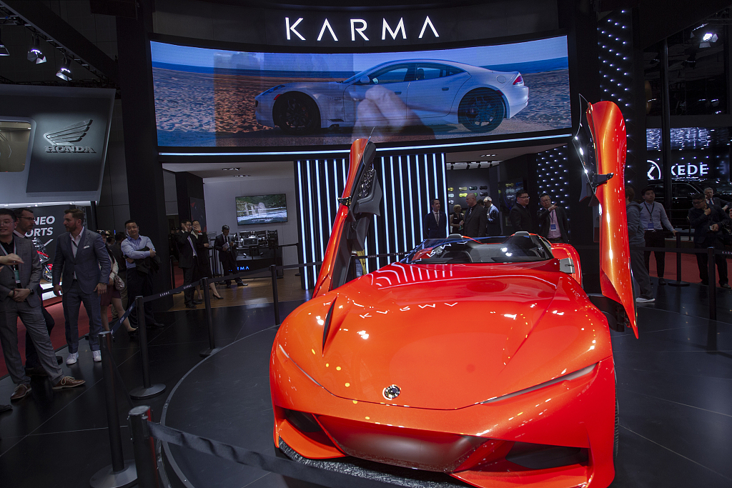 Chinese-funded automaker launches global all-electric product platform