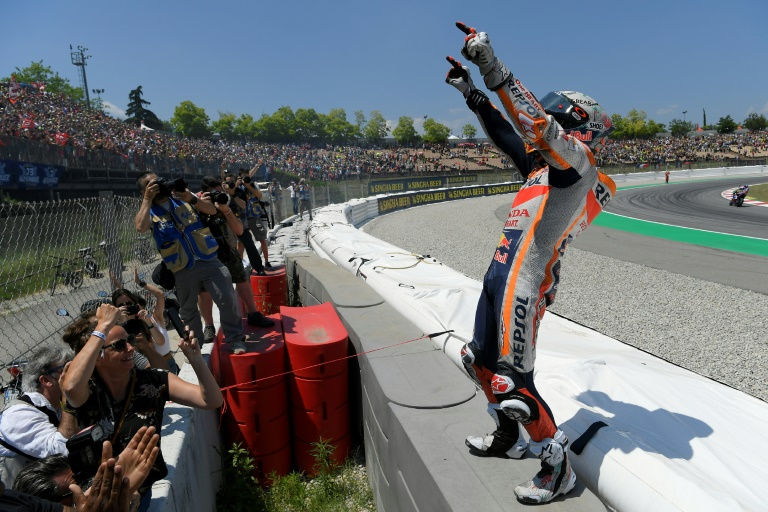 'Cathedral of Speed' awaits red hot Marquez