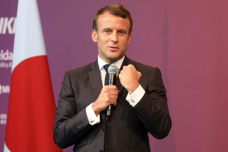 Macron sees 'no reason' to alter French stake in Renault