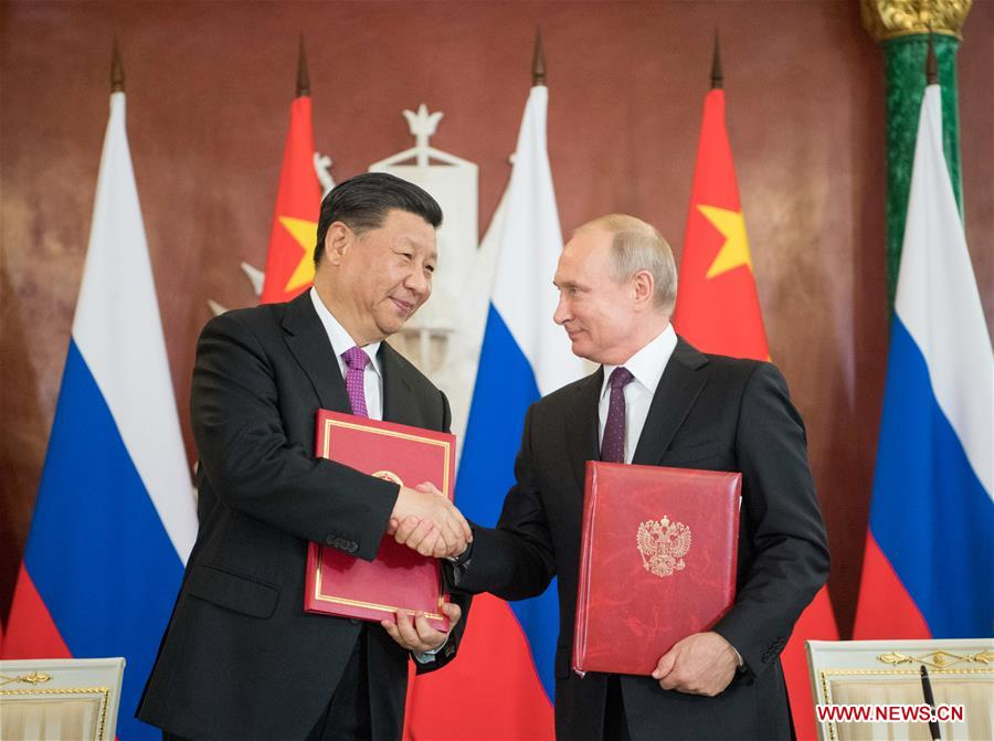 China, Russia to lift military relations to new high: defense ministry