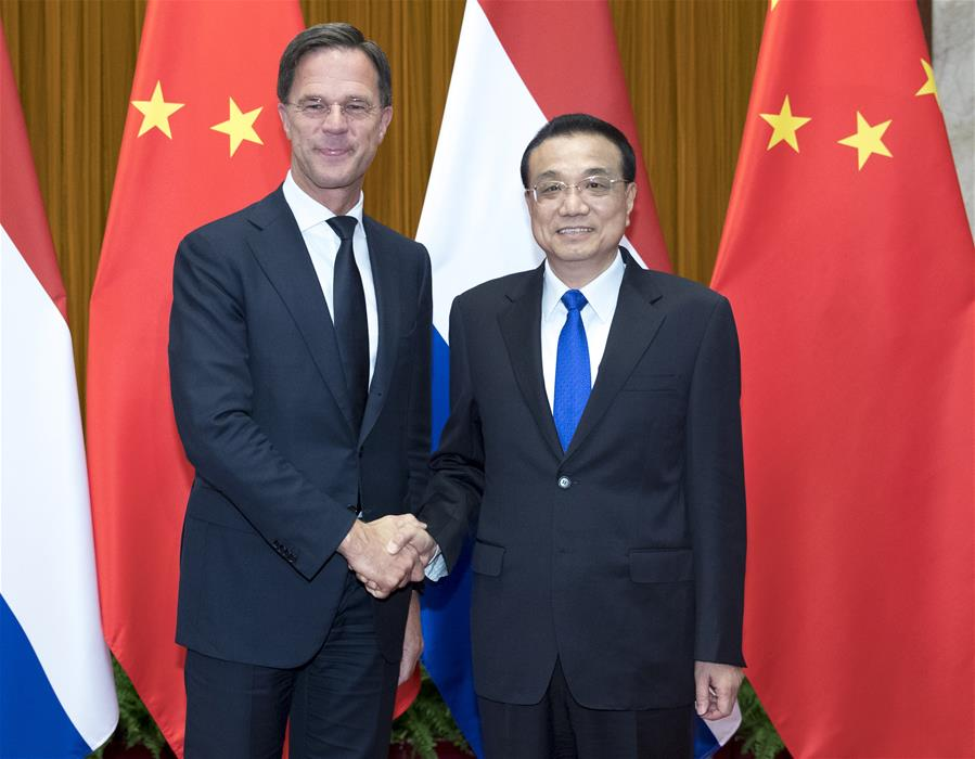 China calls for more practical cooperation with the Netherlands