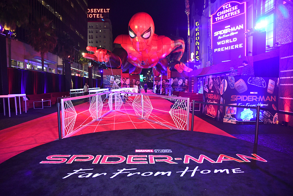 'Spider-Man: Far from Home' hits cinemas on Chinese mainland